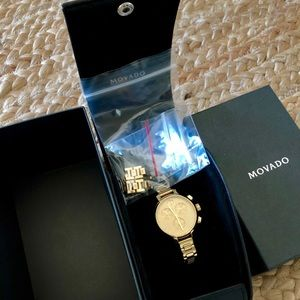 Movado Accessories - Movado Bold Women's 34mm Chronograph Watch!